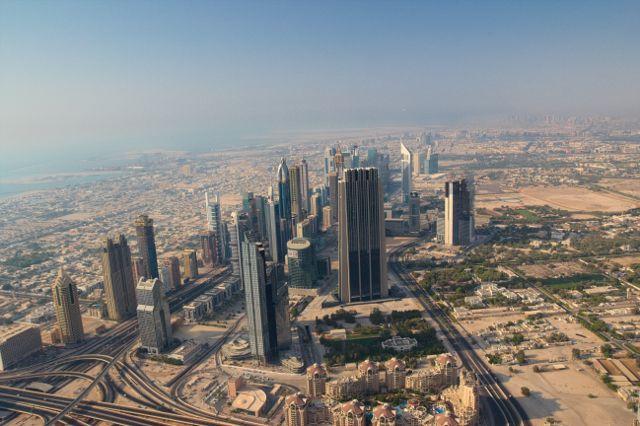 The Top, Burj Khalifa - Dubaj
