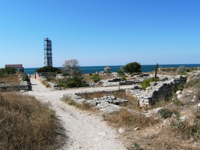 Antické vykopávky v Chersonesu