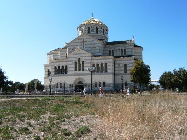 Chrám sv. Vladimíra v Chersonesu
