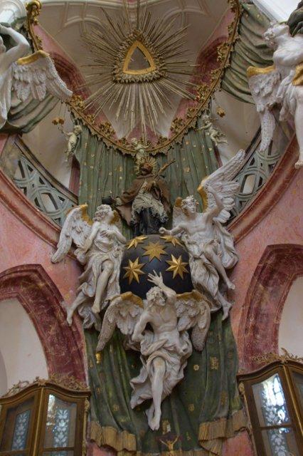 Kostel svatého Jana Nepomuckého - Zelená hora, Žďár nad Sázavou