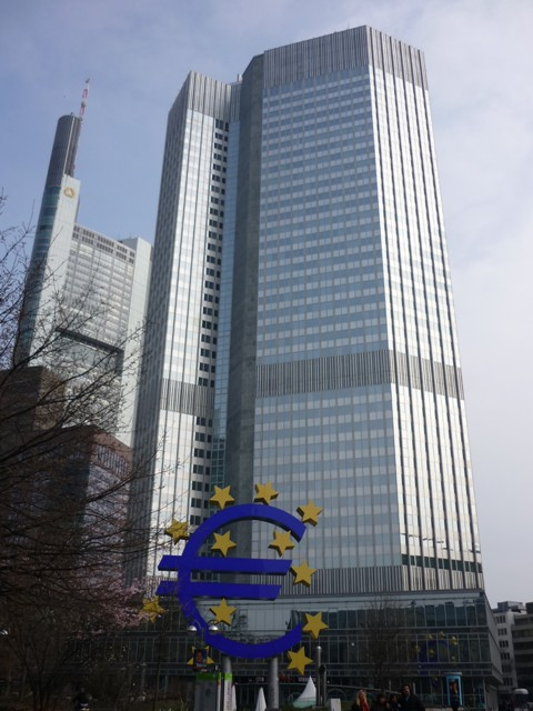 Evropská centrální banka - Franfurkt nad Mohanem