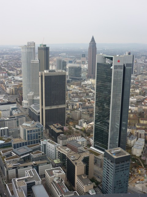 mrakodrapy Frankfurt