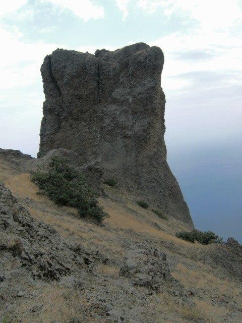Skalní útvary v Kara-Dagu