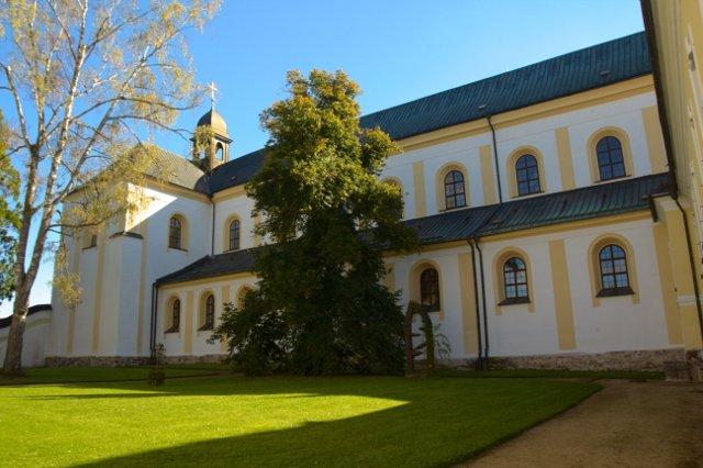 Areál bývalého klášteru ve Žďáru nad Sázavou