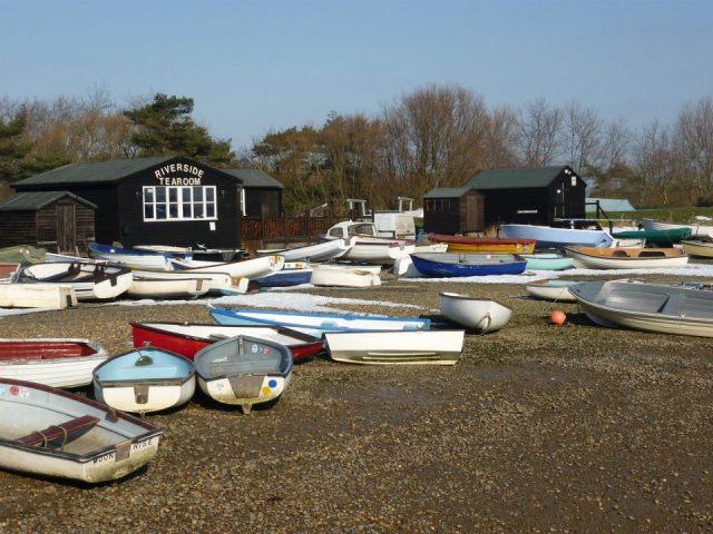 Orford - rybarske lodky
