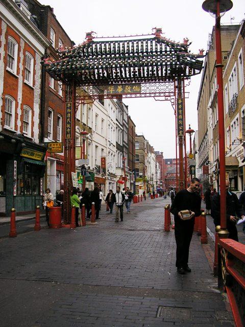 Čínská čtvrť v Soho