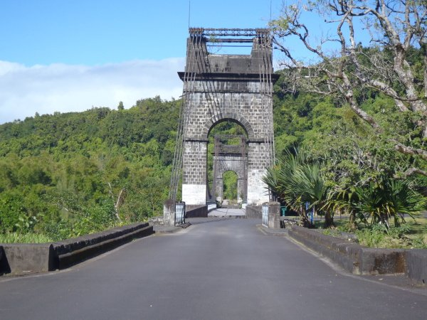 Historický most přes řeku de I´Est