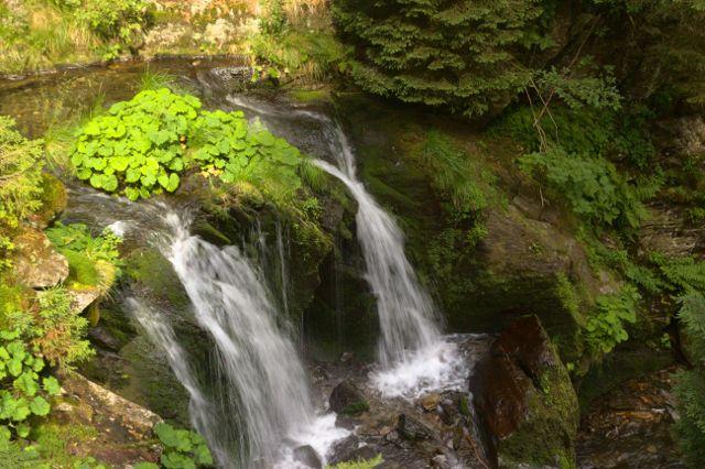 Velký vodopád - vodopády Bílé Opavy, Jeseníky