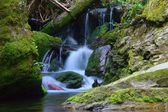 Vodopády Bílé Opavy - Jeseníky