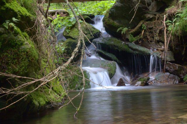Vodopád - Bílá Opava, Jeseníky