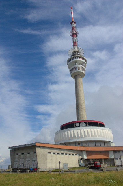 Vysílač na vrcholu Praděd