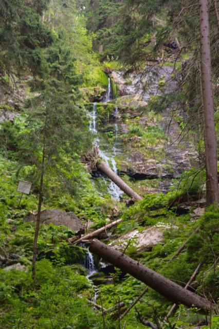 Vysoký vodopád - Jeseníky