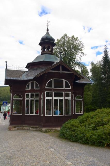 Pitný pavilon, Karlova Studánka - Jeseníky