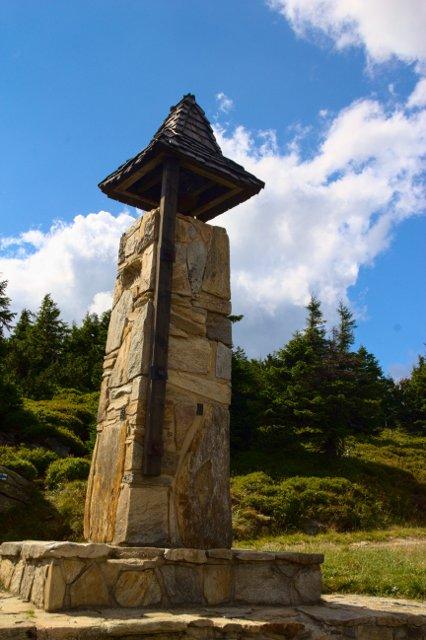 Zvonice u chaty Šerák - Jeseníky