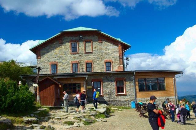 Šerák, turistická chata - Jeseníky