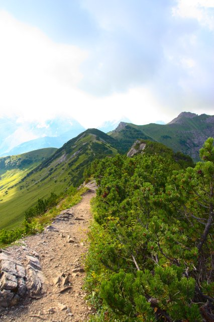 Alpy - Lichtenštejnsko