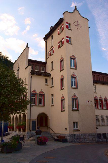 Radnice, Vaduz - Lichtenštejnsko