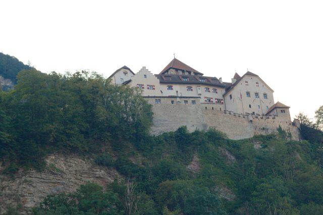 Hrad Vaduz - Lichtenštejnsko