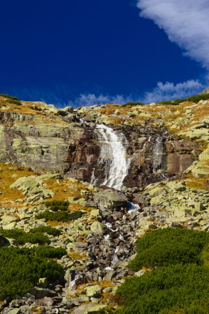 Velický vodopád - Vysoké Tatry
