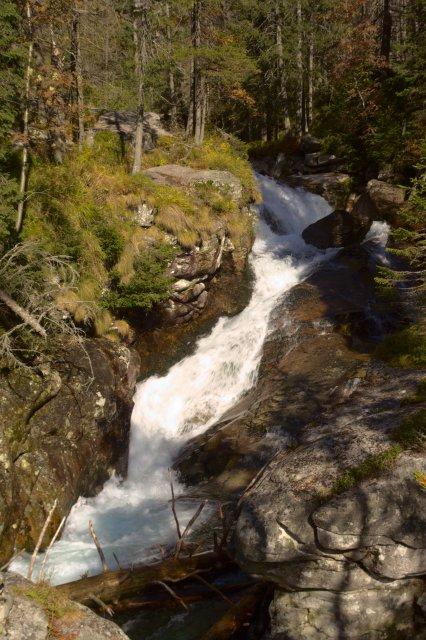 Malý vodopád Studeného potoka - Vysoké Tatry