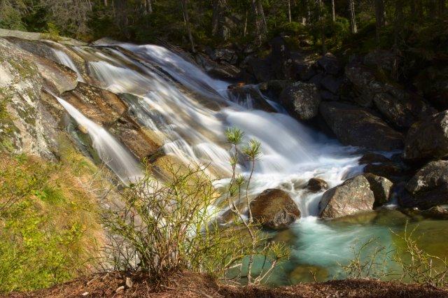Dlhý vodopád Studeného potoka - Vysoké Tatry