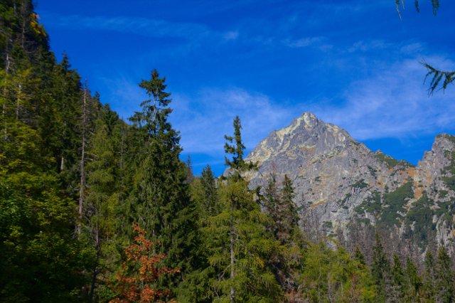 Výhled z Tatranské magistrály - Vysoké Tatry