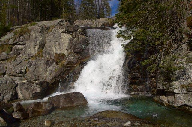 Velký vodopád Studeného potoka - Vysoké Tatry