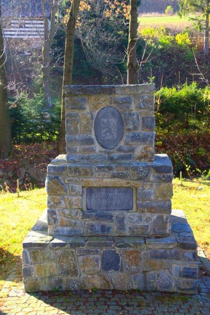 Pomník obětem válek, Horní Lipová - Jeseníky