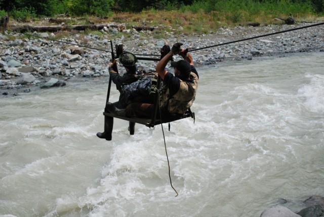 Lano přes řeku
