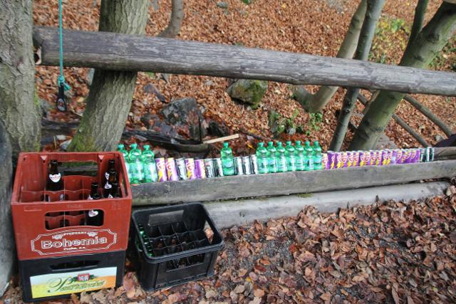 Lesní bar - nabídka, Jeseníky
