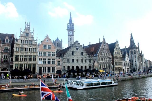 Nábřeží v Gentu