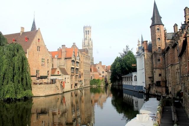 Kanál a městská věž