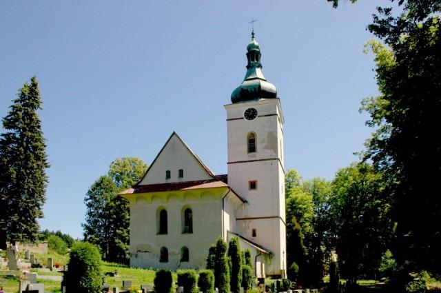 Rudník - barokní kostel