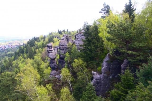 Jonsdorfské skalní město