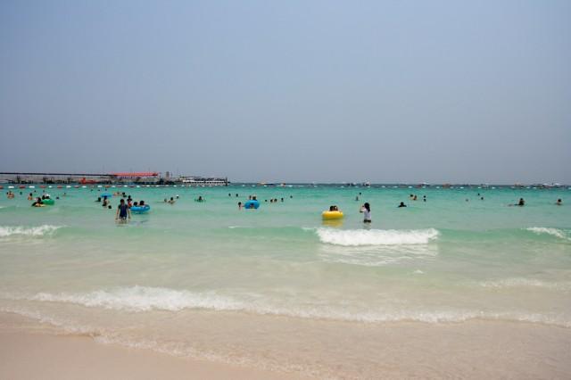 Pláž v Pattaye