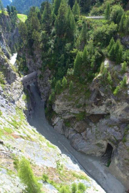 Horský potok Zmuttbach - Švýcarsko