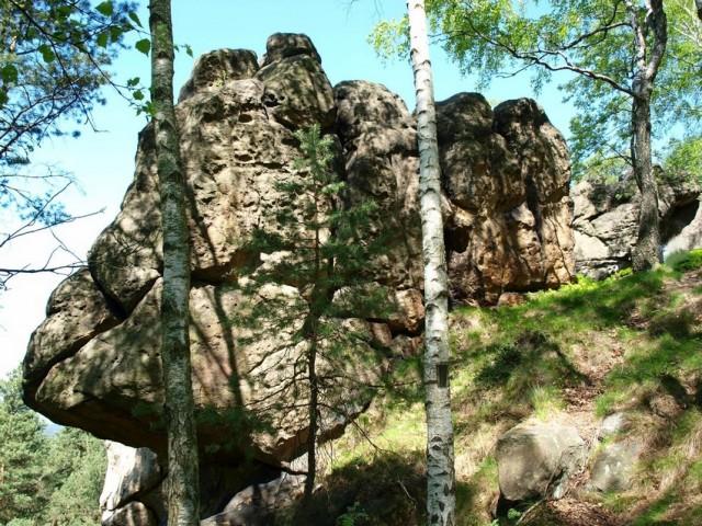 Pod Kohoutí skalou