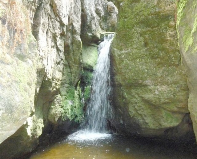 Malý adršpašský vodopád