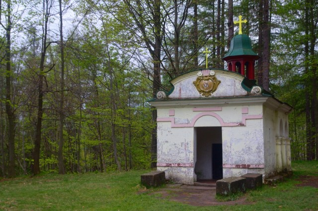 Křížová hora - kaple Boží hrob