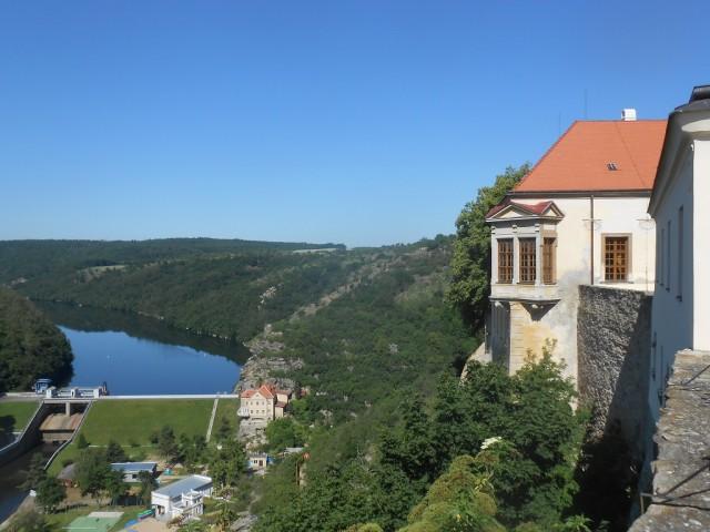 Znojemský hrad a přehrada