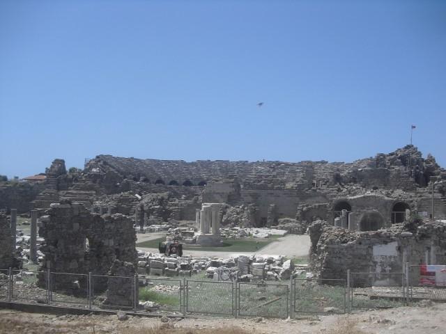 Římský amfiteátr ze 2. století