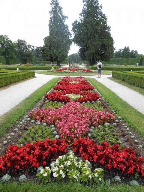Zahrada ve francouzském stylu