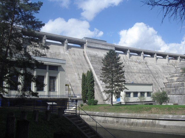 Hráz Vranovské přehrady