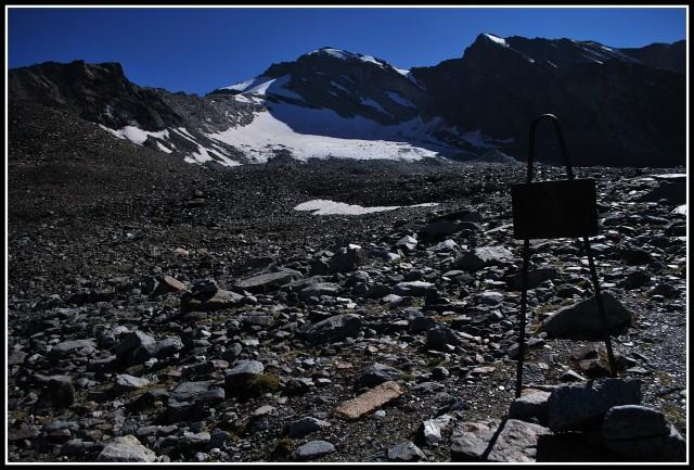 Cesta k ledovci pod Gran Serra