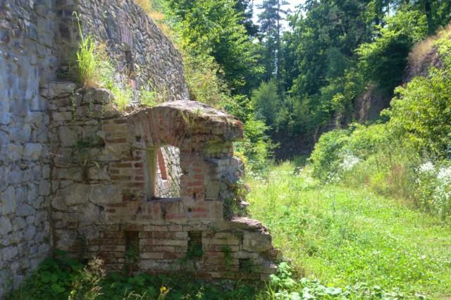 Fort Radíkov číslo II - příkop
