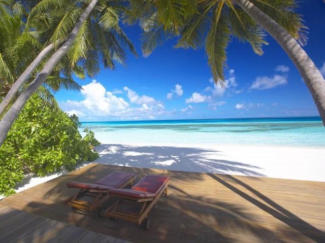 Pláž - Maledivy