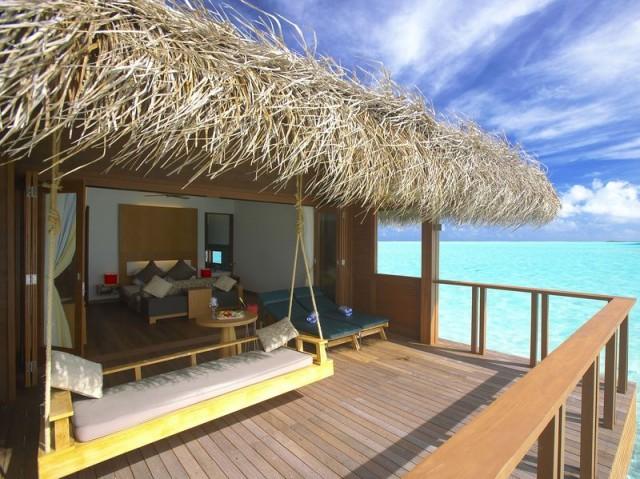 Vodní vila - Maledivy