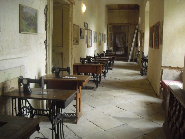 Interiér zámku Letovice