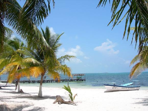 Mexiko - pláž