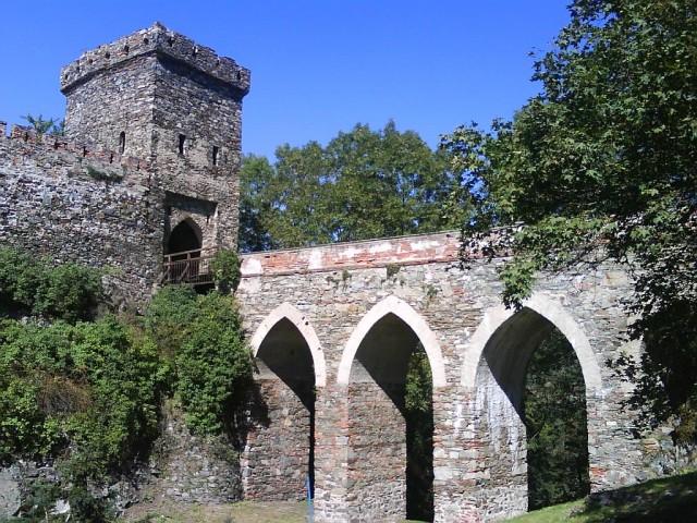 Přístup k hradní bráně